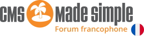 Forum CMS Made Simple FR
